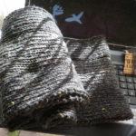 ダイソーの毛糸でスヌード作った!