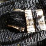 ダイソーの毛糸の余り糸